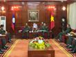 Le Vietnam et le Laos renforcent la coopération militaire
