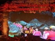 Ouverture de la fête des grottes de Quang Binh 2015