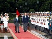 Déclaration commune Vietnam-Royaume Uni