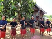 Cours de gong estivaux à Dak Lak