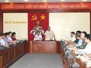 Le vice-PM Nguyen Xuan Phuc en tournée à Lang Son