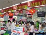 Défilé intitulé ''Fier des marques commerciales vietnamiennes''