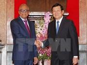 Entretien  entre les deux présidents vietnamien et bangladais