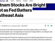 Bloomberg : le marché boursier vietnamien est en plein essor