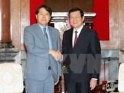 Le président Truong Tan Sang reçoit le ministre japonais de l'Agriculture