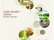 Un concours d'écriture sur la culture vietnamienne