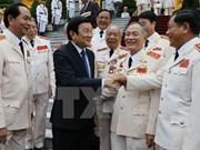 Le chef de l'Etat rencontre des généraux de la police