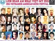 Festival de musique Vietnam-Etats-Unis 2015