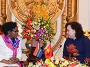 Hanoi et Johannesburg discutent de la protection des femmes