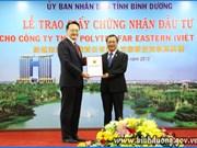 IDE : performance de Binh Duong