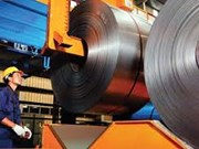 Record de production d'acier en juillet