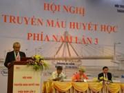 Conférence sur l'hématologie et la transfusion sanguine à Da Nang