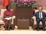 Le président de l'AN reçoit la directrice de la BM au Vietnam