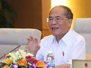 Nguyen Sinh Hung participera à la Conférence mondiale des Présidents de Parlement