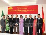 Cérémonie de célébration des 70 ans de la diplomatie vietnamienne au Mexique