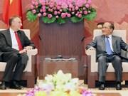 Le Vietnam appelle le PE à soutenir la signature de l'accord de libre-échange avec l'UE
