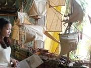 Une jeune femme fait revivre les anciens navires