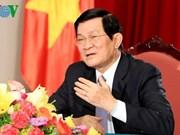 Le président Truong Tân Sang va célébrer la victoire sur le fascisme en Chine