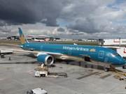 Le premier vol de Vietnam Airlines avec le Boeing 787-9 Dreamliner à Londres