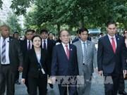 Nguyen Sinh Hung termine sa participation à la Conférence mondiale des Présidents de Parlement