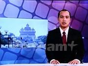 La Télévision nationale du Laos diffuse un journal télévisé en vietnamien
