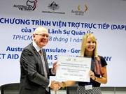 L'Australie débute le Programme d'assistance directe au Vietnam