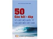 Publication d'un livre sur la CNUDM 1982 et la loi sur la mer du Vietnam