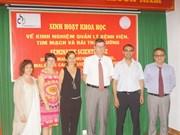 Coopération entre les hôpitaux franco-vietnamiens
