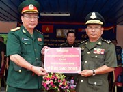 Mise en chantier d'un ouvrage financé par le Vietnam pour l'Armée cambodgienne