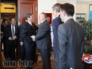 Une délégation du PCV en visite en Russie