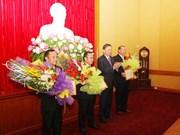 Des cadres laotiens à l'honneur