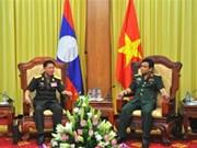 Vietnam et Laos renforcent leur coopération militaire