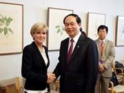 Vietnam-Australie : élever l'efficacité de la coopération entre les organes judiciaires
