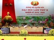 Ouverture du 10e Congrès de l'Organisation du PCV pour l'armée