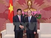 Le président de l'AN vietnamienne reçoit l'ambassadeur du Laos