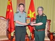 Renforcement de la confiance mutuelle dans les relations Vietnam-Chine