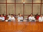 Le Bureau politique donne ses avis pour le 16e Congrès de l'Organisation du Parti de Hanoi