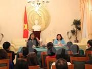 La vice-présidente de l'AN Tong Thi Phong rencontre la diaspora vietnamienne en Allemagne