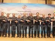 Conférence des ministres de l'ASEAN sur la lutte contre la criminalité transnationale