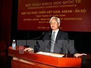 Coopération au développement Vietnam, ASEAN - Inde au menu d'un séminaire