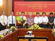 La Commission centrale de l'Économie sort sa magazine