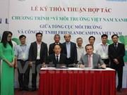 """Signature d'un accord de coopération """"Pour un environnement vert"""""""