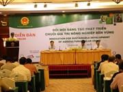 Vers une agriculture créative et durable