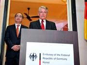 L'anniversaire de la réunification allemande fêté à Hanoi