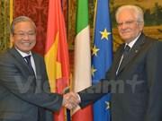 Porter les relations Italie-Vietnam à une nouvelle hauteur
