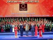 Remise des prix Etoile d'or du Vietnam 2015