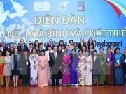 Forum international ''Femmes-Paix-Développement''