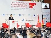 Les entreprises allemandes souhaitent renforcer la coopération avec le Vietnam