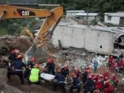 Glissement de terrain : message de sympathie au Guatemala