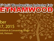 1.200 machines de traitement du bois à la foire-exposition «Vietnamwood 2015»